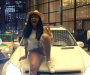 Actress Etinosa Receives Car Gift From A Fan In Dubai (Photos)
